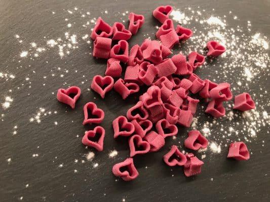 Haerzbluet-Pasta - Herzform