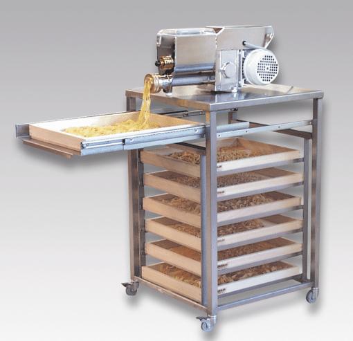 Nudelhordenwagen mit Pastamaschine PN 100