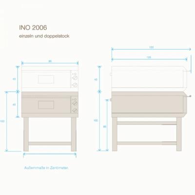 der ino 2006 bietet platz f r ca 15 kg brot eine ideal gr sse f r gro haushalte gastronomie. Black Bedroom Furniture Sets. Home Design Ideas