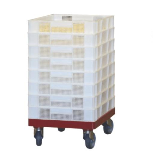 PVC-Hordenwagen mit Plastikhorden