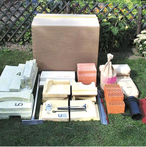 Bausatz Holzbackofen 6/8 Modell