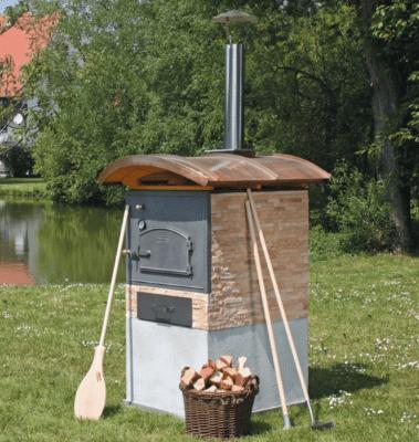 Traumbackhaus - Häussler Holzbackofen Bausatz zum selber bauen