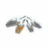 Abwiegeschaufel Aluminium vier Varianten