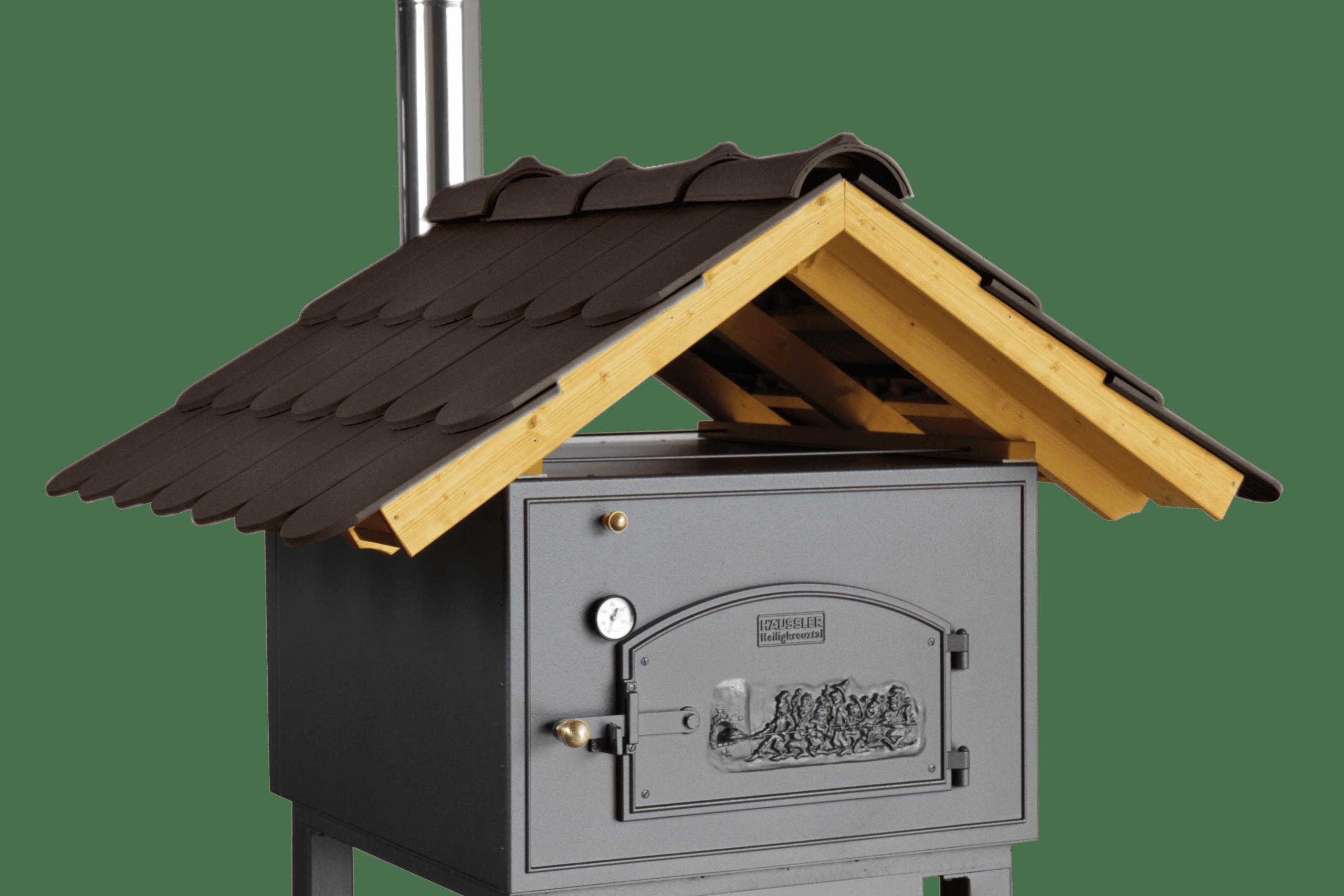 Häussler Dach für HABO Holzbackofen