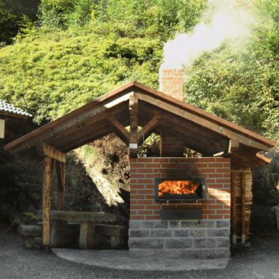 Beispiel eines Holzbackofen Bausatzes der Firma Häussler HABO 10