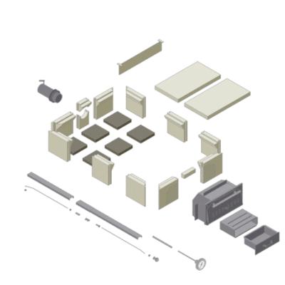 Schematische Skizze Holzbackofen Bausatz Häussler HABO 10