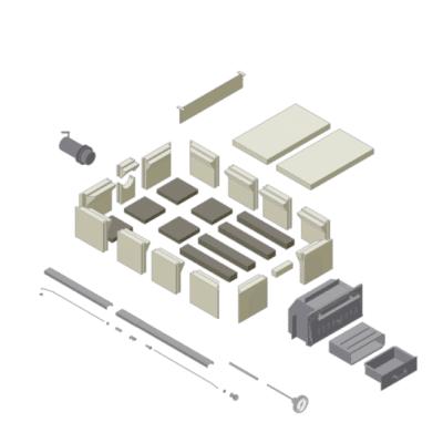 Schematische Skizze Holzbackofen Bausatz Häussler HABO 15