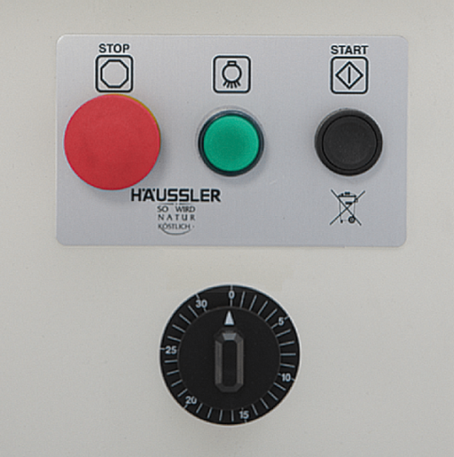Schalterbrett zu Häussler Teigknetmaschine SP 10