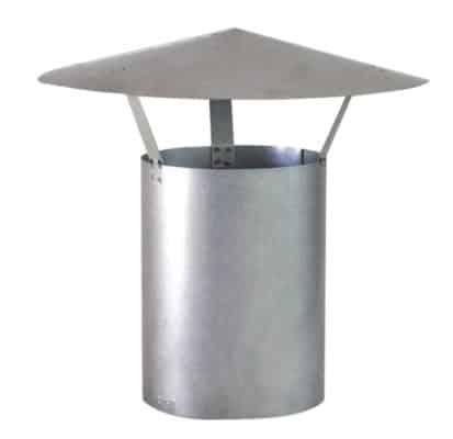 Häussler Holzbackofen Regenhut aluminiert