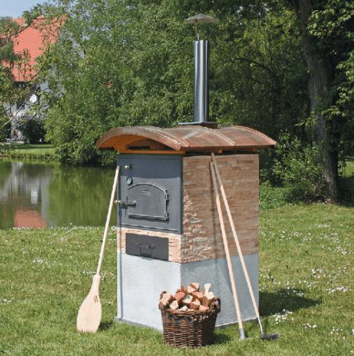 HABO Vario Häussler Holzbackofen Bausatz Beispiel 2