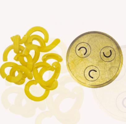 Profimatrize für Pastamaschine LUNA: Matrize Nr. 268 Spaccatelle