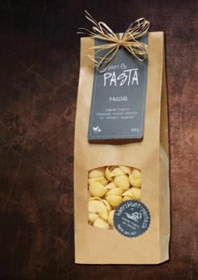 Härzbluet Pasta Packung Muschlä